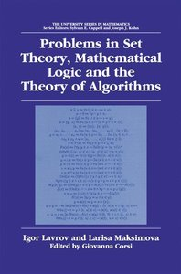 Problems in Set Theory, Mathematical Logic and the Theory of Alg