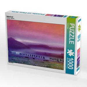 Nebelland 1000 Teile Puzzle quer