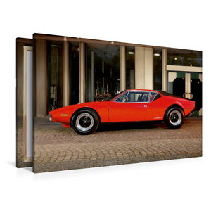 Premium Textil-Leinwand 120 cm x 80 cm quer De Tomaso Pantera