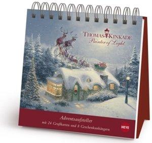 Thomas Kinkade Adventsaufsteller Geschenkbuch