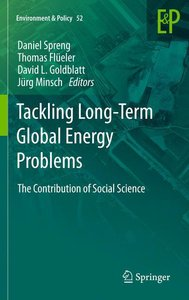 Tackling Long-Term Global Energy Problems