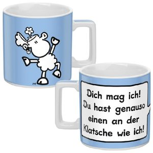 "Tasse ""Wortheld"" hellblau"