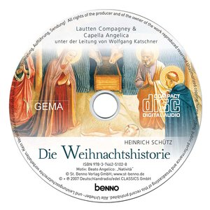 CD »Die Weihnachtshistorie (SWV 435)«