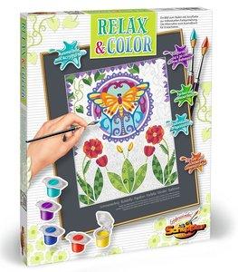 Schipper 609480748 Malen nach Zahlen Relax und Color Schmetterli