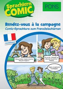PONS Sprachlern-Comic Französisch Rendez-vous à la campagne