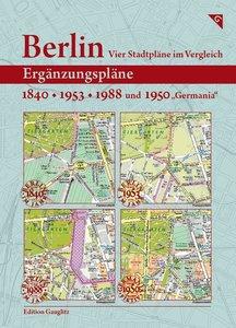 Berlin - Vier Stadtpläne im Vergleich: Ergänzungspläne 1840, 195