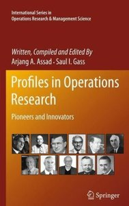 Profiles in Operations Research