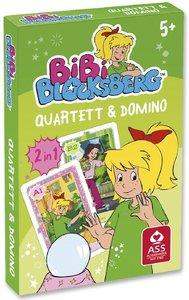 Bibi Blocksberg (Kinderspiel) Quartett & Domino