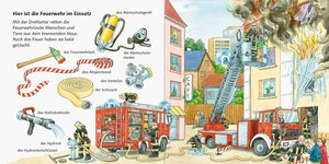 Mein erstes Wörterbuch: Feuerwehr