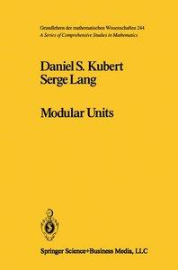 Modular Units
