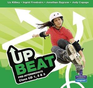 Upbeat Pre-Intermediate Class CDs (3)