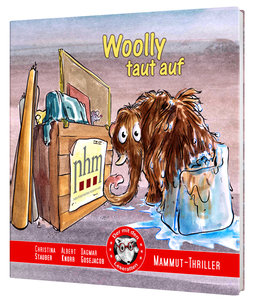 Woolly taut auf - Mammut im Naturhistorischen Museum Wien