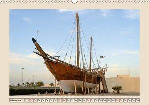 Kuwait, Stadt am Golf (Wandkalender 2019 DIN A3 quer)