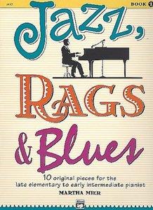 Jazz, Rags & Blues, Bk 1: 10 Original Pieces for the Late Elemen