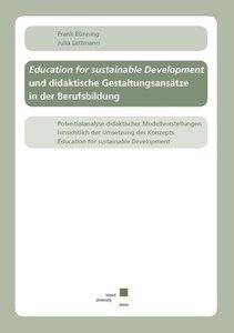 Education for sustainable Development und didaktische Gestaltung