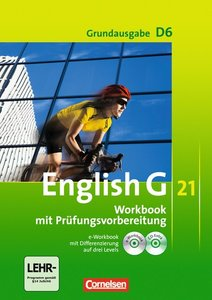 English G 21 - Grundausgabe D 06: 10. Schuljahr. Workbook mit e-