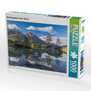 CALVENDO Puzzle Berchtesgadener Land - Bayern 1000 Teile Lege-Gr