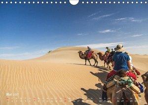 Unterwegs in der Taklamakan Wüste