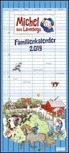 Michel aus Lönneberga Familienkalender 2019 - Familien-Planer mi