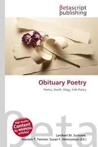 Obituary Poetry