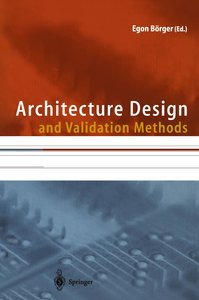 Architecture Design and Validation Methods