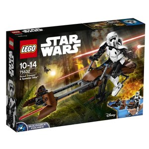 LEGO® Star Wars 75532 - Scout Trooper & Speeder Bike