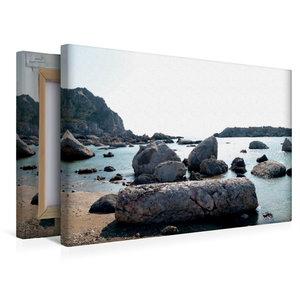 Premium Textil-Leinwand 45 cm x 30 cm quer Antike Säulen an der