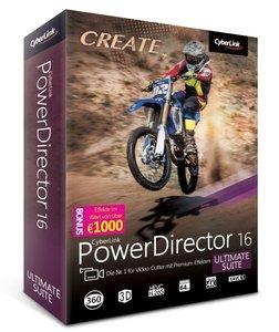Cyberlink PowerDirector 16 Ultimate Suite/CD-ROM