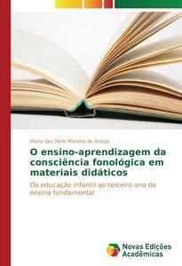 O ensino-aprendizagem da consciência fonológica em materiais did