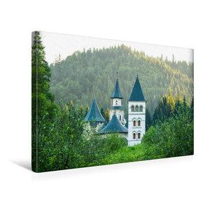 Premium Textil-Leinwand 45 cm x 30 cm quer Kloster Putna