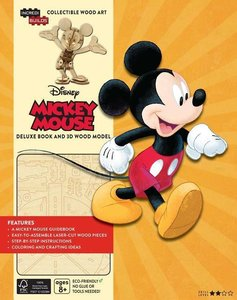 Incredibuilds: Walt Disney: Mickey Mouse Deluxe Book and Model S