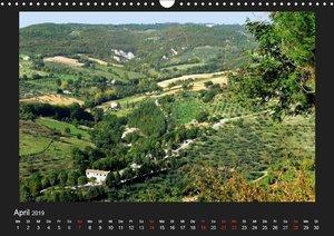 Auf den Spuren des Hl. Franziskus (Wandkalender 2019 DIN A3 quer