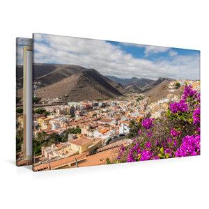 Premium Textil-Leinwand 120 cm x 80 cm quer San Sebastian