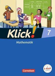 Klick! Mathematik 7. Schuljahr. Schülerbuch Westliche Bundesländ