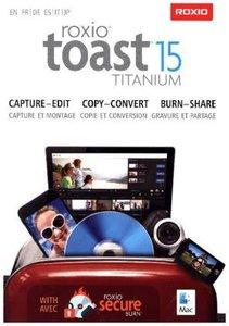 Roxio Toast 15 Titanium (MAC), 1 DVD-ROM