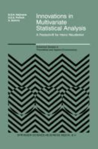 Innovations in Multivariate Statistical Analysis