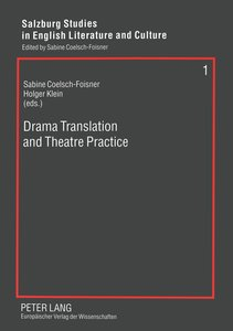 Drama Translation and Theatre Practice