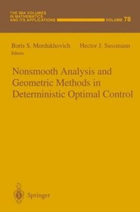 Nonsmooth Analysis and Geometric Methods in Deterministic Optima