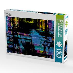 Einkaufen 1000 Teile Puzzle quer