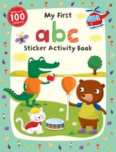My First ABC Sticker Activity Book