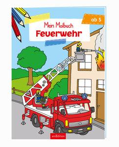 Malbuch ab 5 Jahren - Feuerwehr