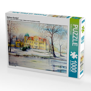 Schloss Gundorf 1000 Teile Puzzle quer