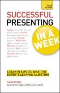 Presentation in a Week: Teach Yourself