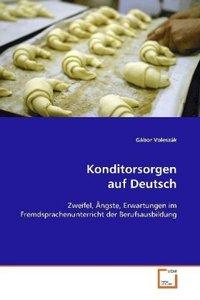 Konditorsorgen auf Deutsch