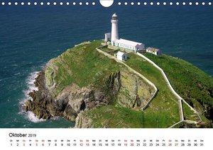 Cornwall und Wales (Wandkalender 2019 DIN A4 quer)