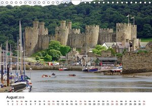 Cornwall und Wales (Wandkalender 2019 DIN A4 quer)