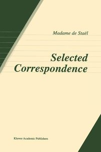 Selected Correspondence