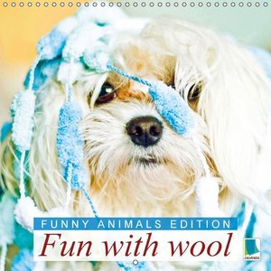 Funny animals edition: Fun with wool (Wall Calendar 2015 300 × 3