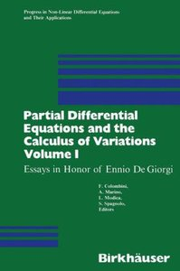 Partial Differential Equations and the Calculus of Variations