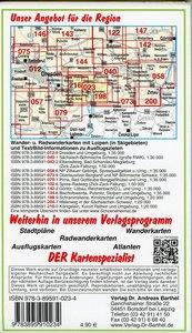 Sächsisch-Böhmische Schweiz 1 : 30 000. Wander- und Radwanderkar